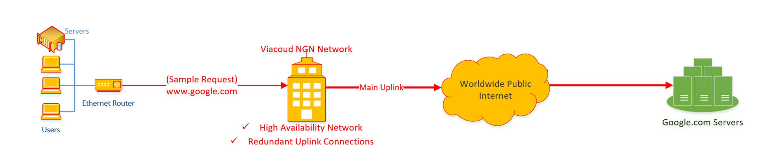 BusinessDedicated diagram