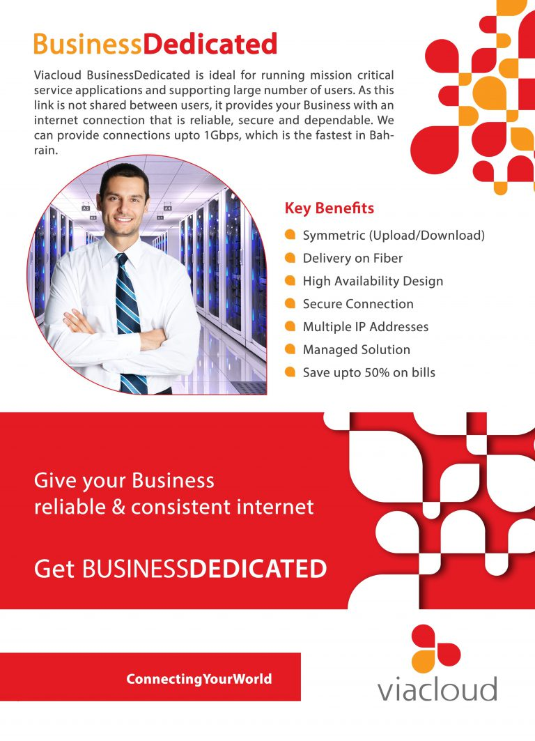 BusinessDedicated Front Print Ready